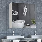 DICTAC spiegelschrank Bad Badezimmer spiegelschrank 70 x 15...