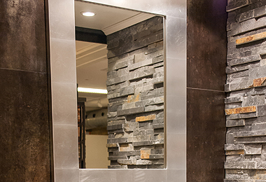 Wandspiegel für das Bad